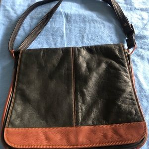 Leather and gorgeous HANDBAG